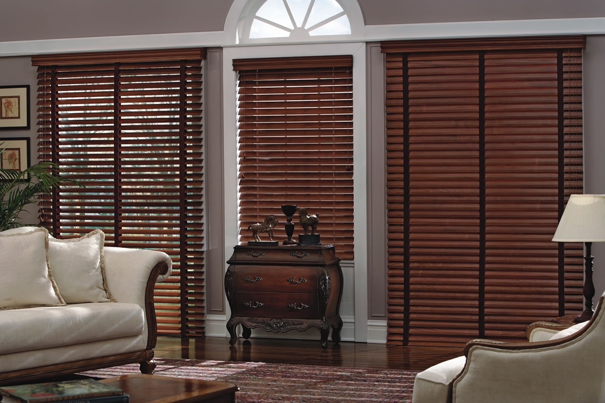 living room image of window window blinds woodblinds